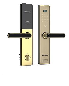 皇家金盾半自动智能锁-X9高端指纹锁