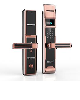 皇家金盾半自动智能锁-X6高端指纹锁