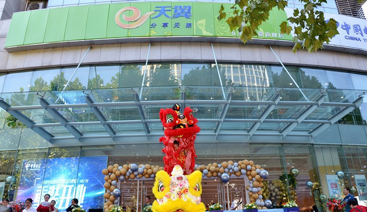 皇家金盾人脸锁云南分公司携手中国电信 共同开启云上应用